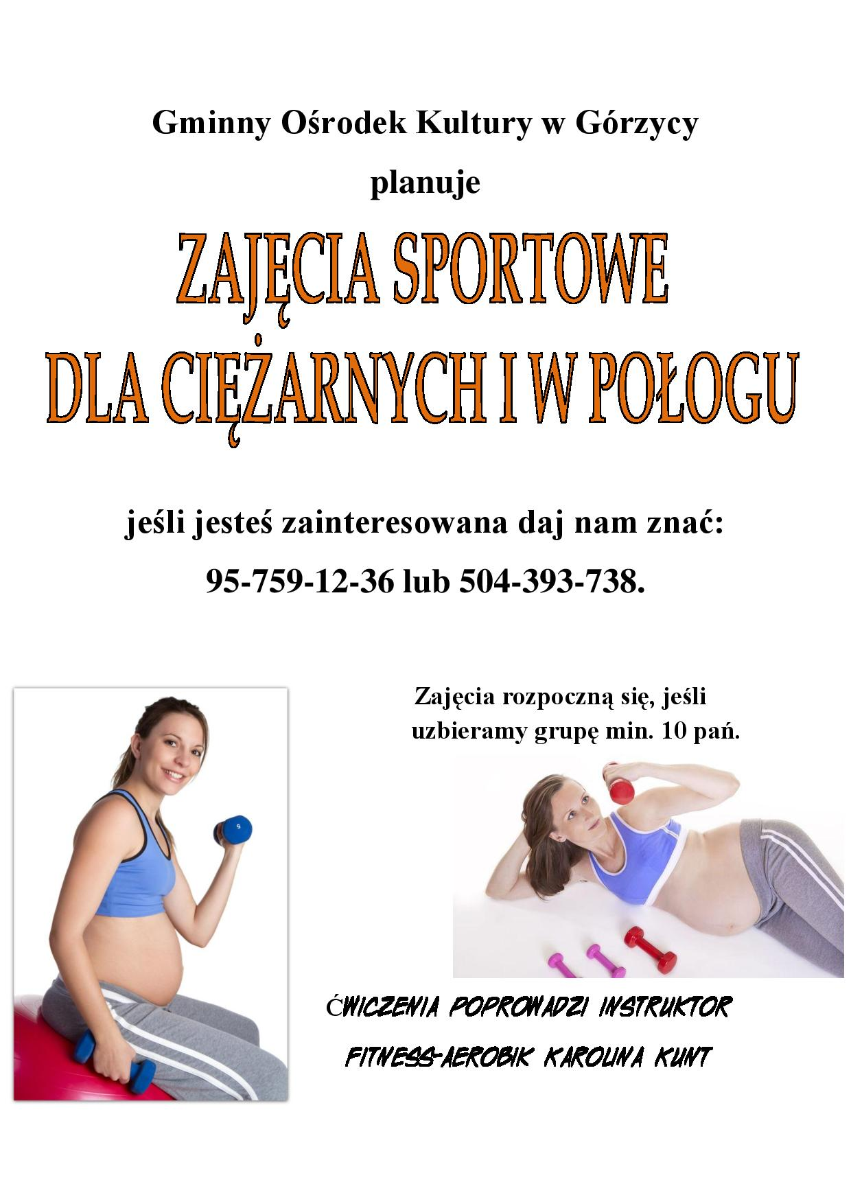 You are browsing images from the article: Zaj�cia dla kobiet ci�arnych!