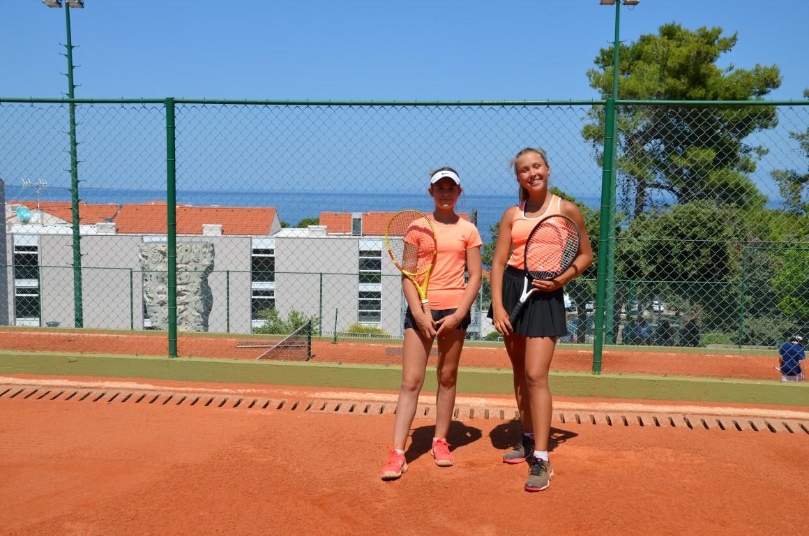You are browsing images from the article: Podsumowanie wyjazdu Dominiki na Tennis Europe do Chorwacji i S³owenii