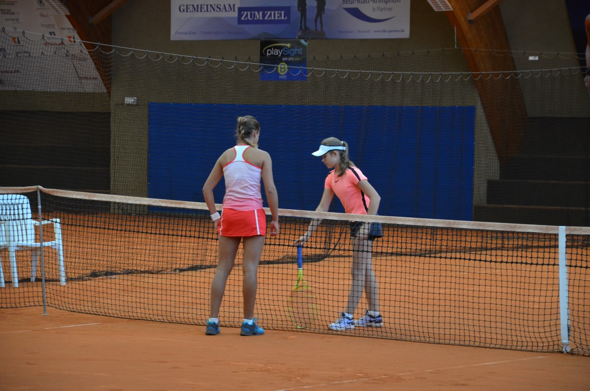 You are browsing images from the article: ¦wietny wystêp Dominiki w Tennis Europe w Niemczech