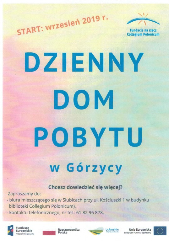 You are browsing images from the article: Dzienny Dom Pobytu w Górzycy
