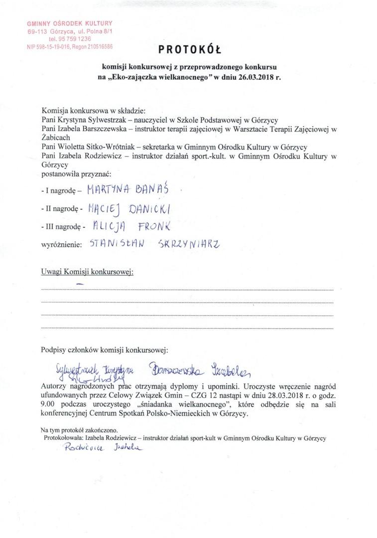 You are browsing images from the article: Autorzy naj³adniejszych ,,Eko-zaj±czków wielkanocnych' wybrani!