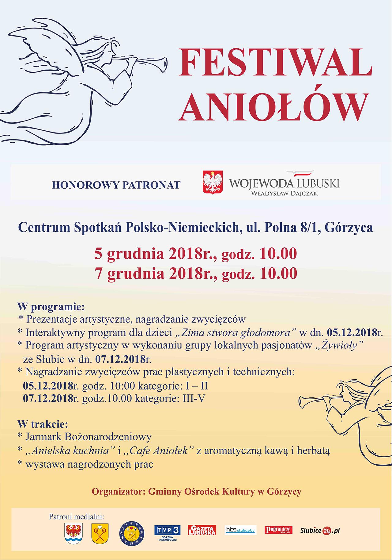 You are browsing images from the article: Serdecznie zapraszamy do udzia³u w kolejnej edycji Festiwalu Anio³ów!