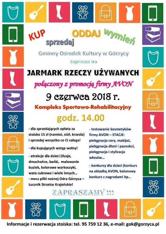 You are browsing images from the article: Po raz pierwszy w Górzycy - Jarmark rzeczy u¿ywanych!