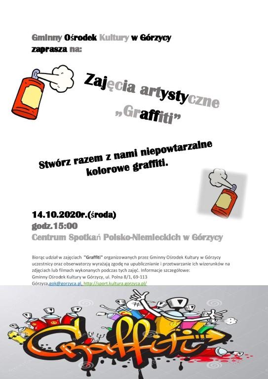 You are browsing images from the article: Zapraszamy na zajêcia artystyczne 'Graffiti'!