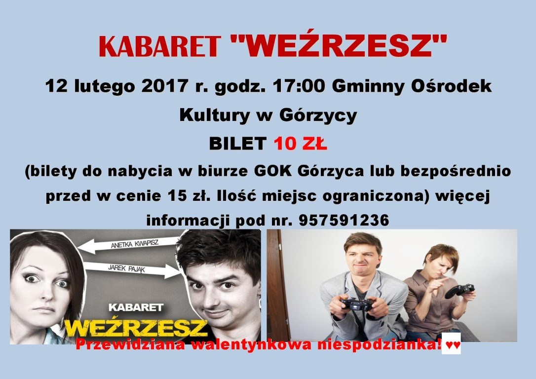 You are browsing images from the article: Kabaret 'WE¬RZESZ' w GOK!