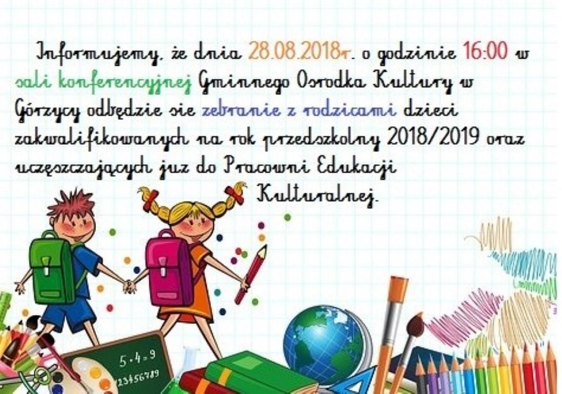 You are browsing images from the article: Zapraszamy rodziców na zebranie!