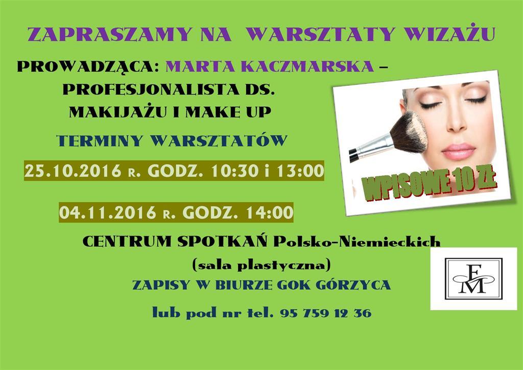 You are browsing images from the article: Zapraszamy na warsztaty wiza�u!