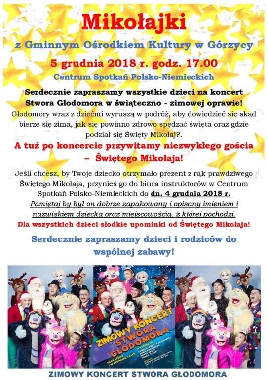 You are browsing images from the article: Zapraszamy na Miko³ajki z Gminnym O¶rodkiem Kultury w Górzycy!