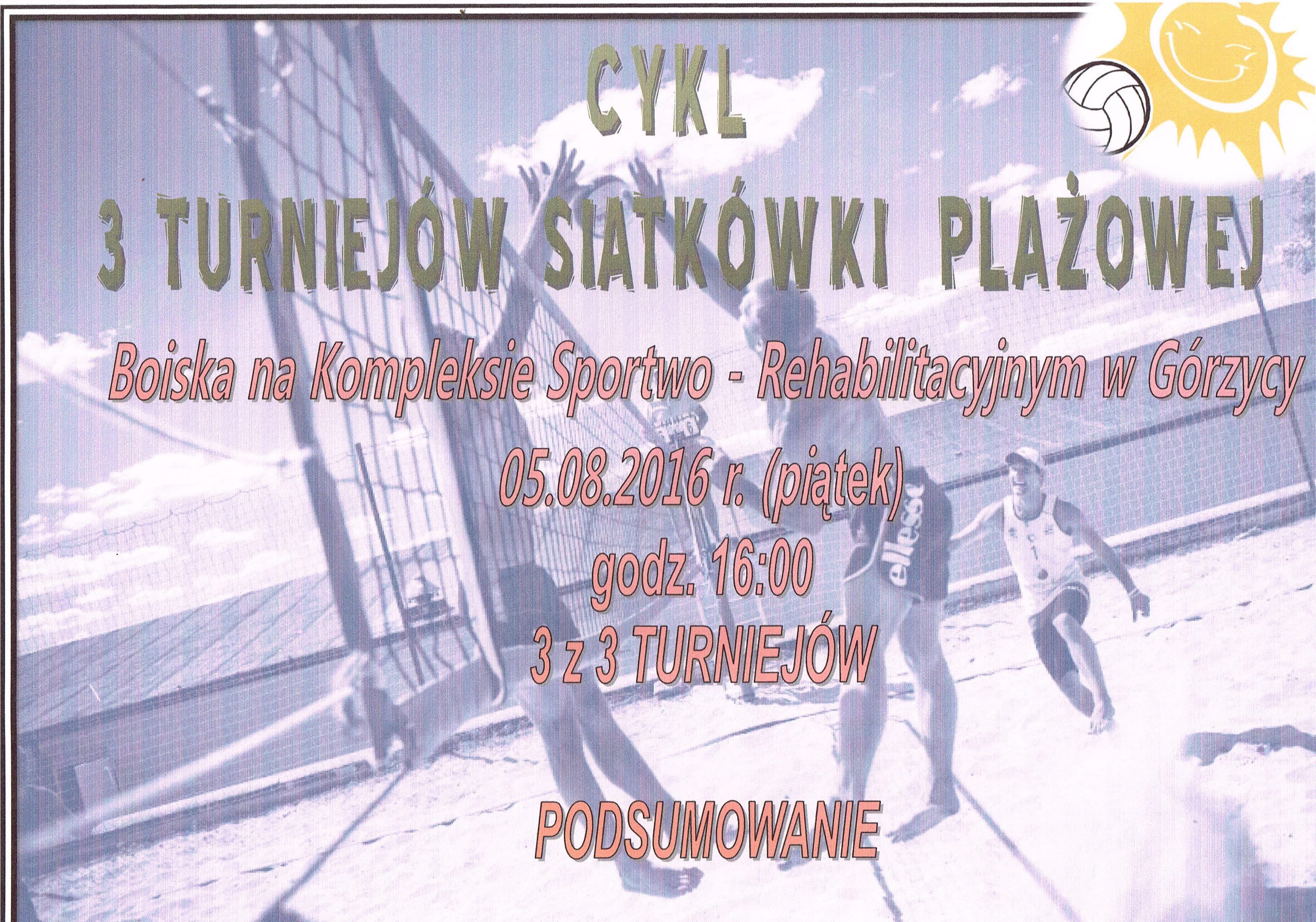 You are browsing images from the article: 3 z 3 Turniej�w Siatk�wki Pla�owej - podsumowanie!