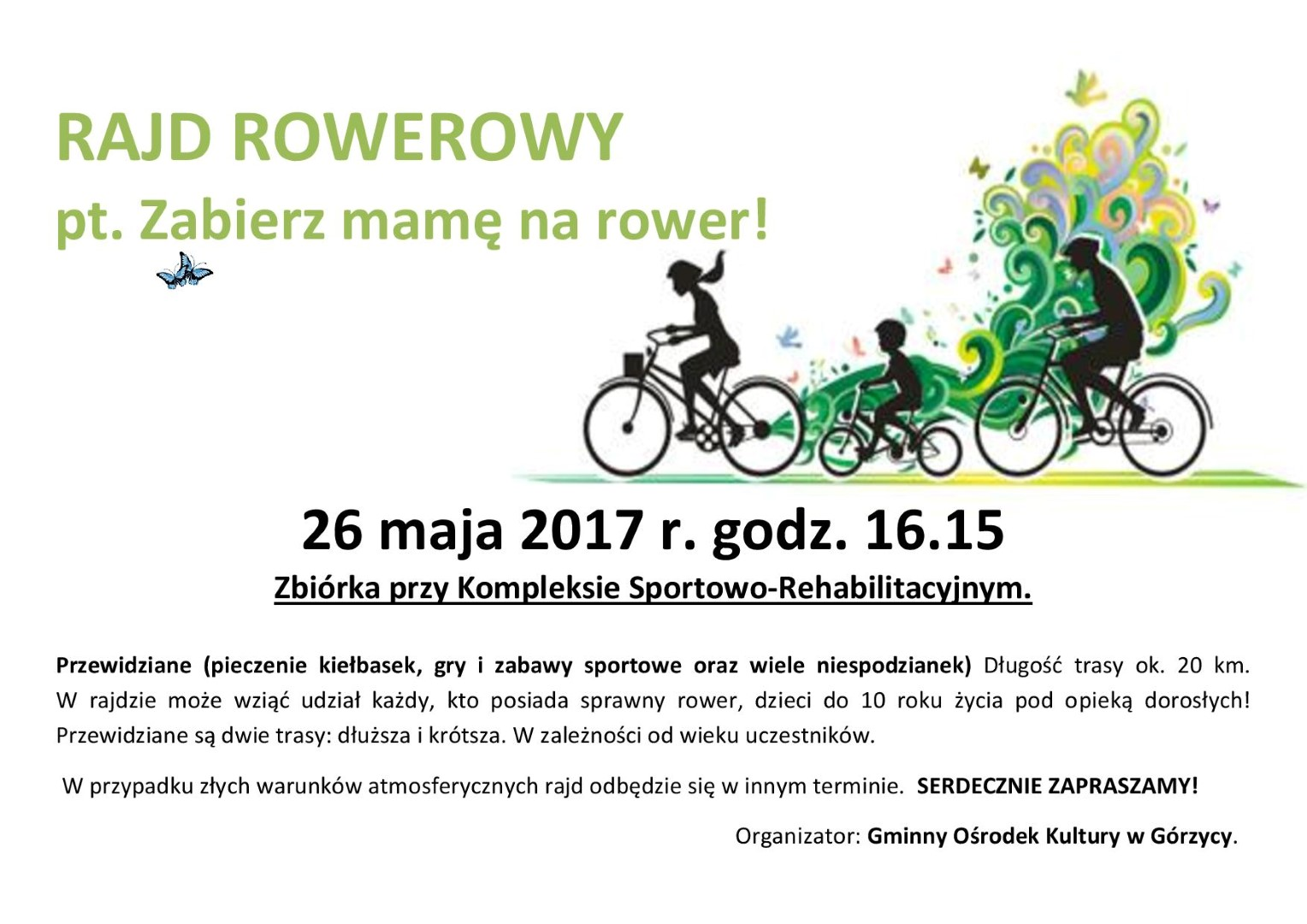 You are browsing images from the article: Rajd Rowerowy!