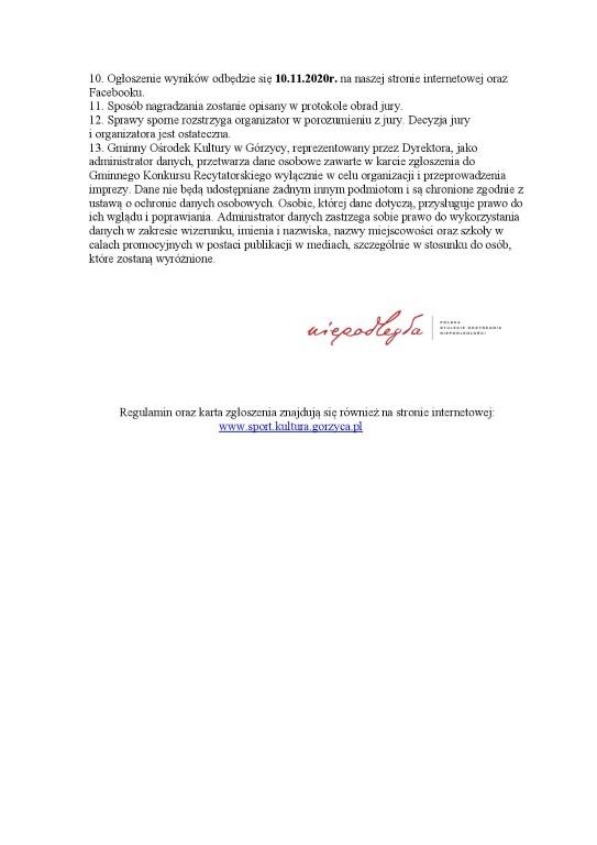 You are browsing images from the article: Gminny Konkurs Recytatorski Poezji Patriotycznej