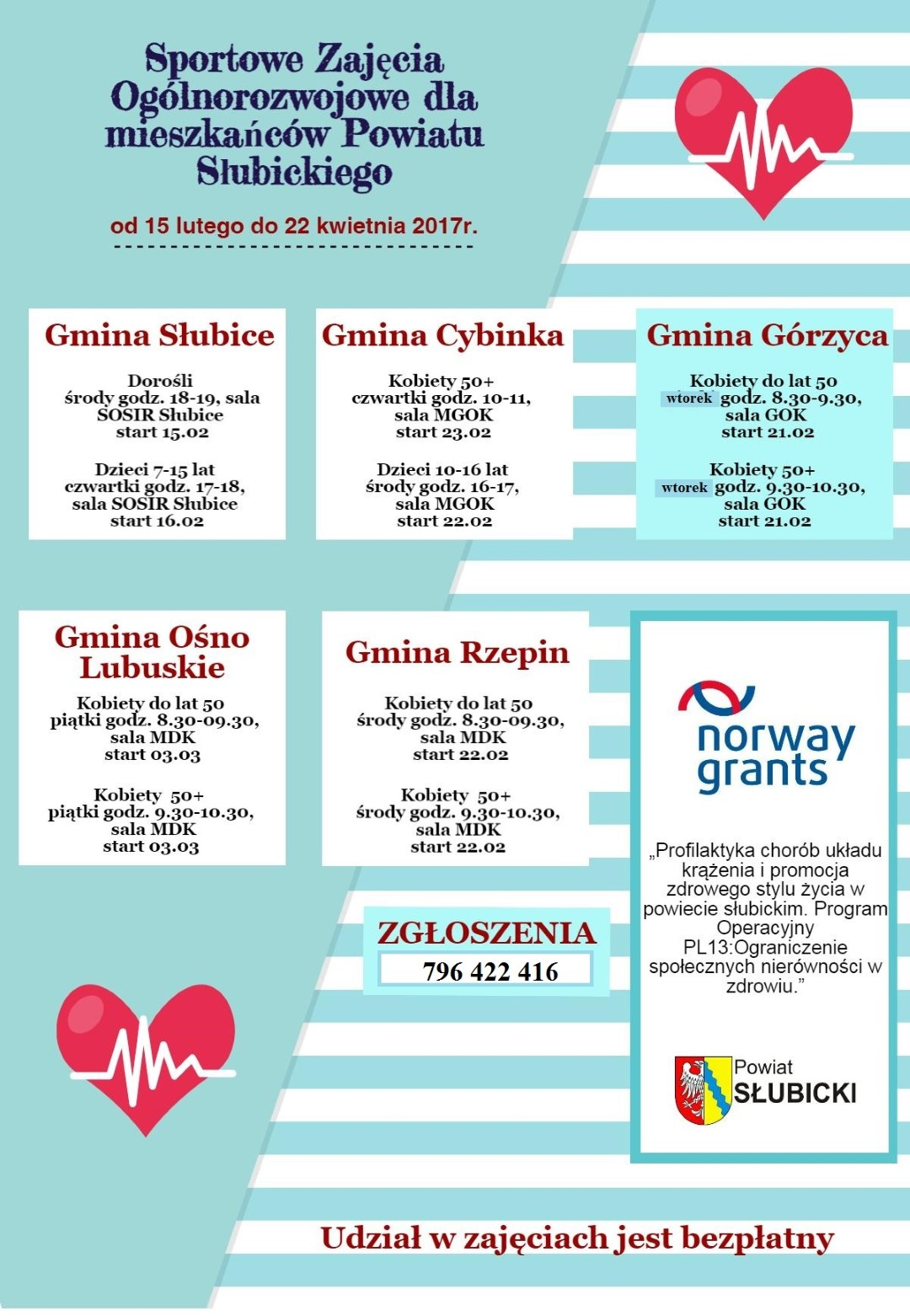 You are browsing images from the article: Zajêcia sportowe dla mieszkañców Gminy Górzyca!