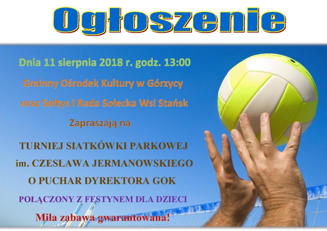 You are browsing images from the article: Zapraszamy wszystkich mi³o¶ników siatkówki do Stañska!