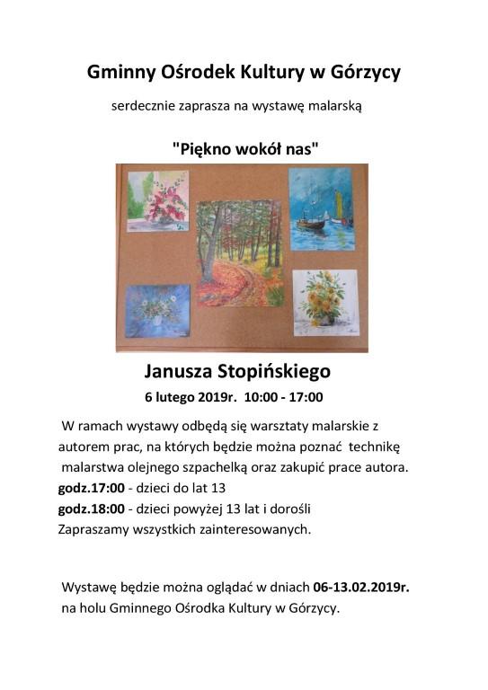 You are browsing images from the article: Serdecznie zapraszamy na wystawê malarsk±.