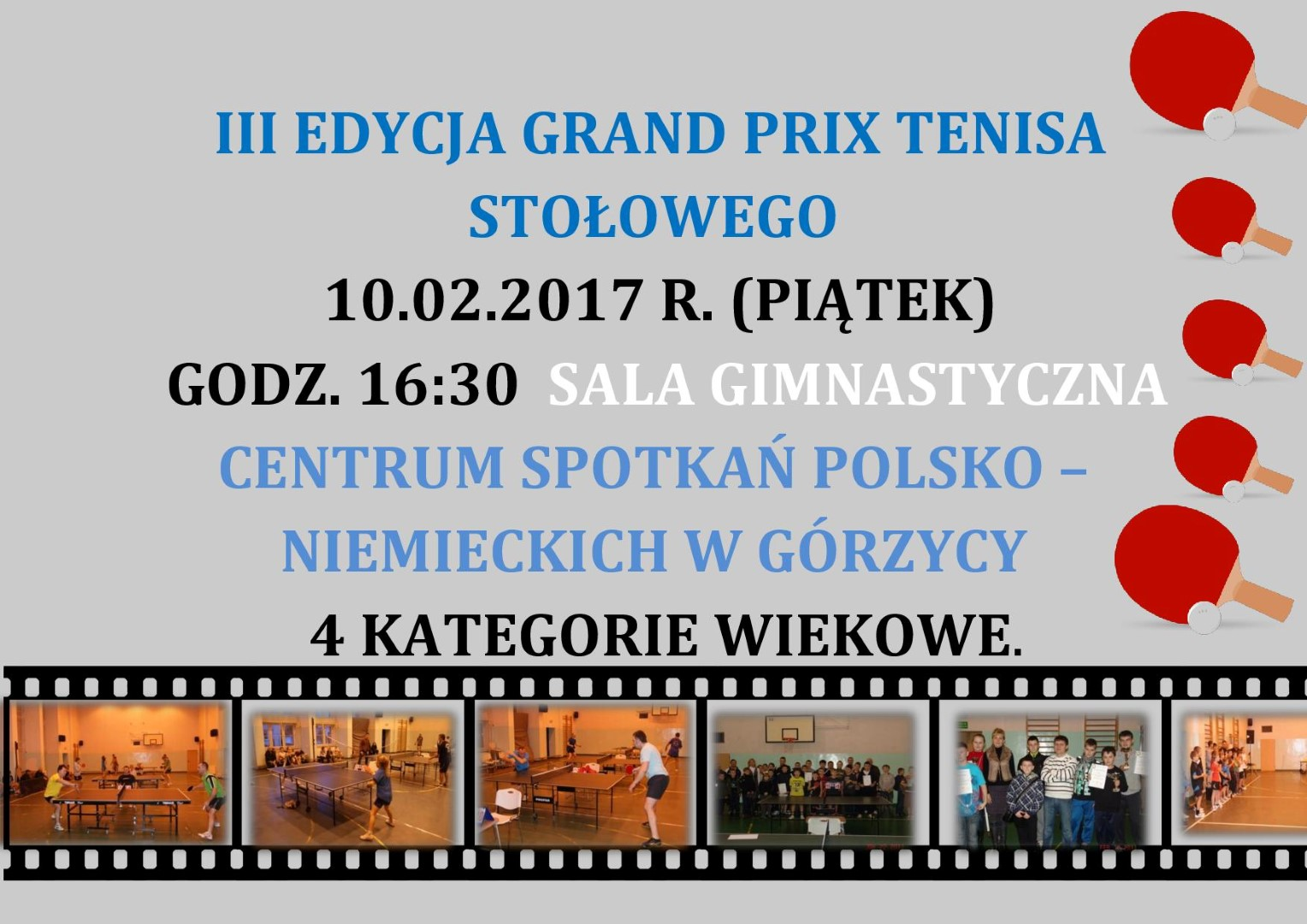You are browsing images from the article: III  Edycja GRAND PRIX tenisa sto³owego!