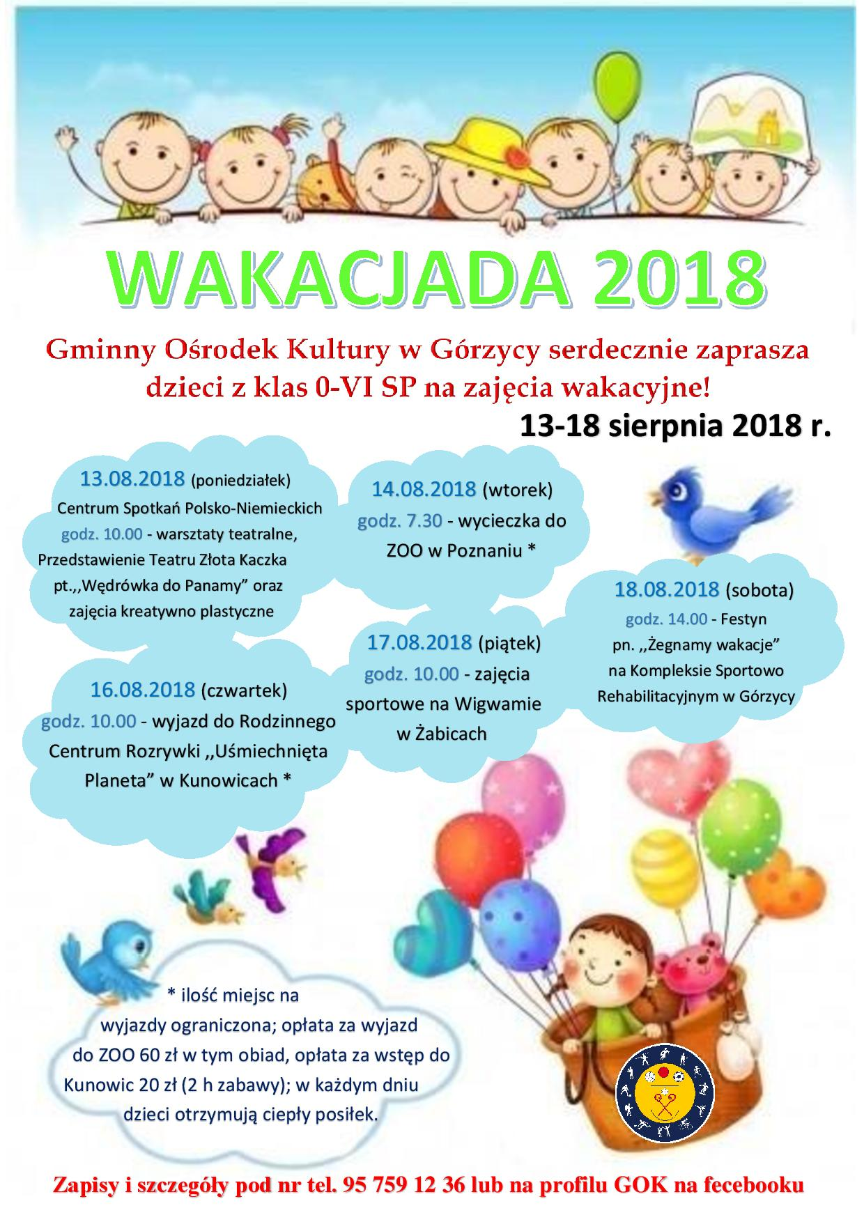 You are browsing images from the article: Wakacjada 2018