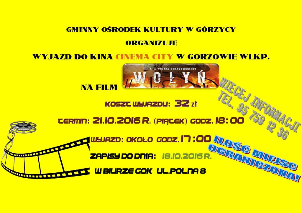 You are browsing images from the article: WO�Y� - wyjazd na film!