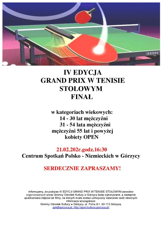 You are browsing images from the article: IV EDYCJA GRAND PRIX W TENISIE STO£OWYM